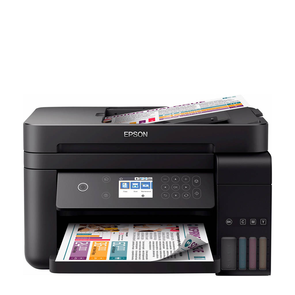 Epson EcoTank ET-3750 all-in-one printer, Zwart