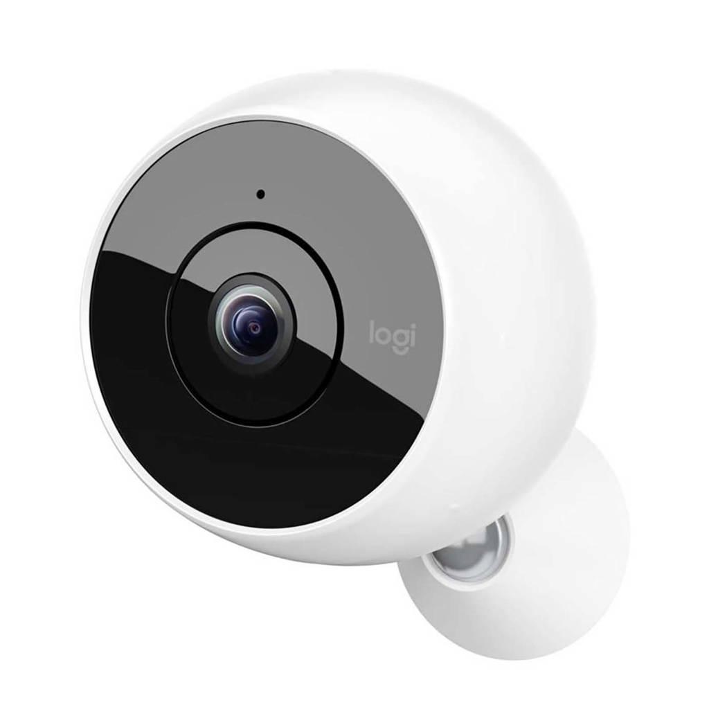 Logitech Circle 2 wireless beveiligingscamera, Wit