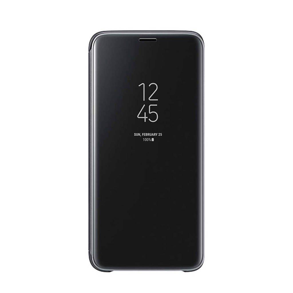 Samsung Galaxy S9 Clear View standcover, Zwart