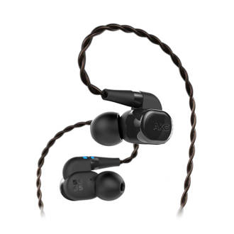 N5005 in-ear koptelefoon zwart