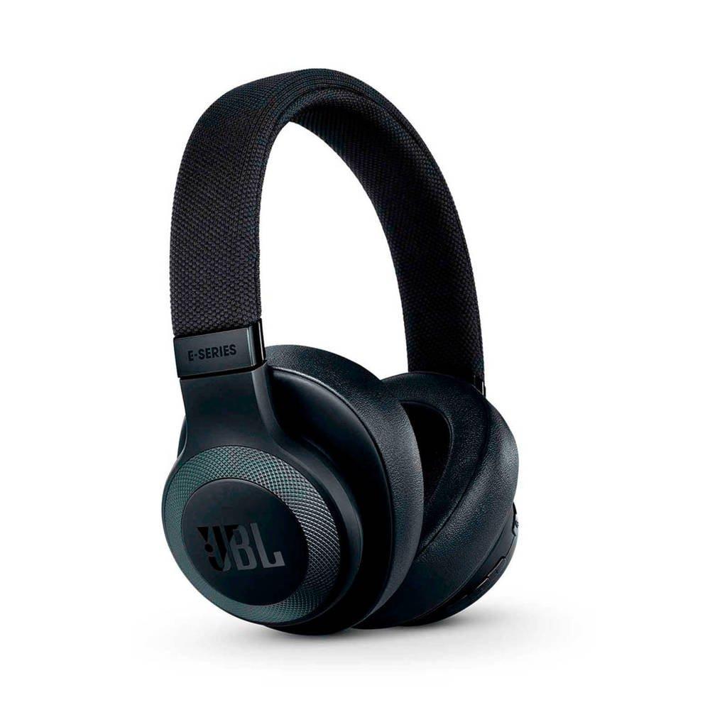 JBL E65BT Bluetooth over-ear hoofdtelefoon (zwart), Zwart