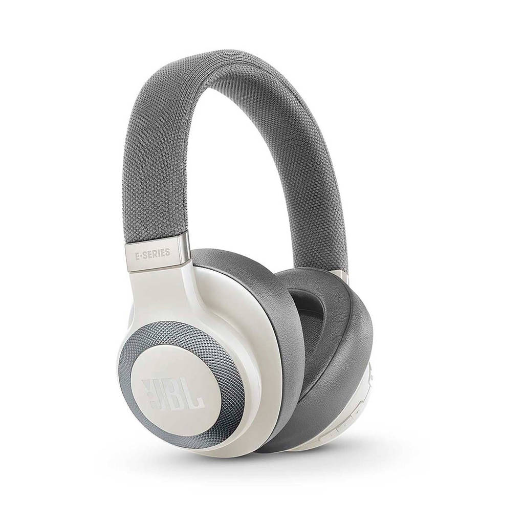 JBL E65BT over-ear bluetooth koptelefoon wit, Wit