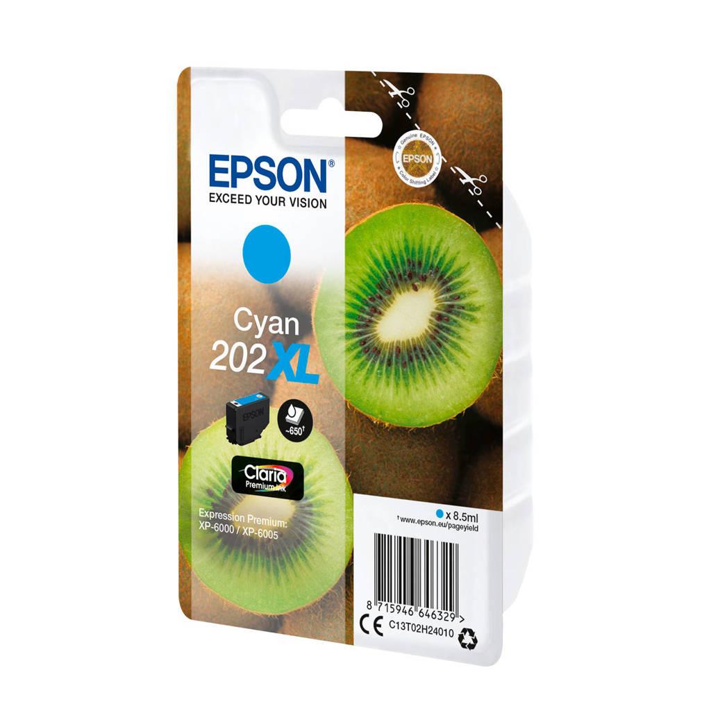 Epson 202 XL CYAN inktcartridge, Cyaan