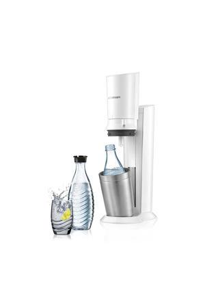 CRYSTAL WHITE +2 BOT SodaStream soda maker Crystalmet 2 karaffen
