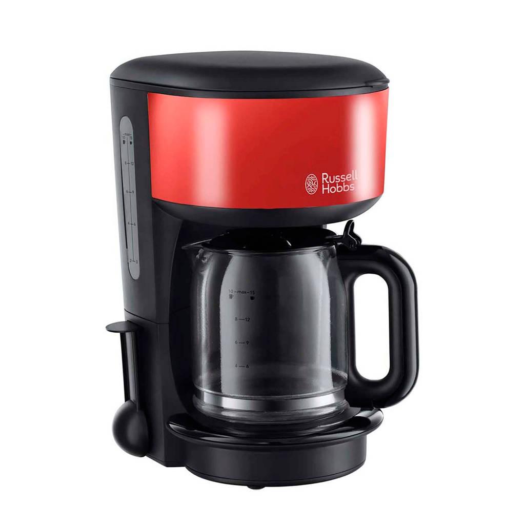 Russell Hobbs 20131-56 Colours Plus koffiezetapparaat, Zwart, Rood