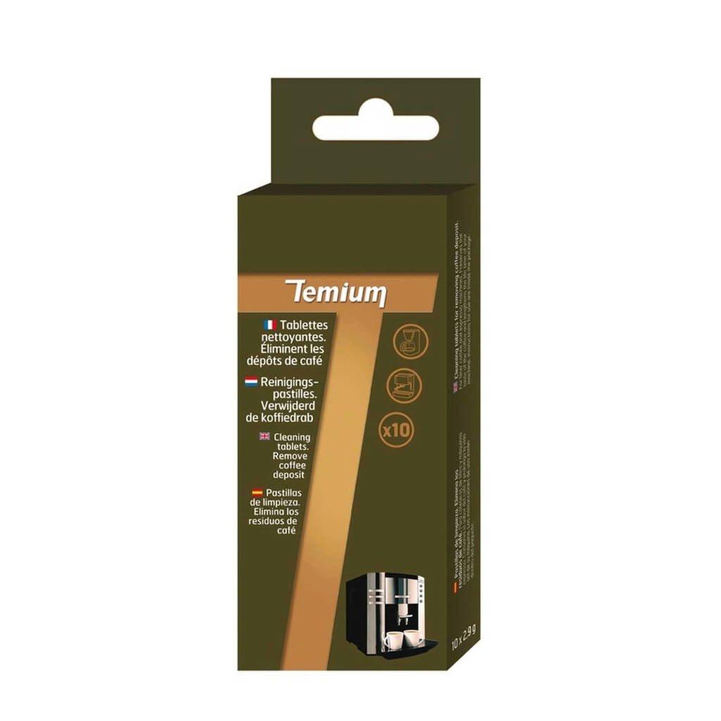Temium koffie-reinigingstabletten (4X10)