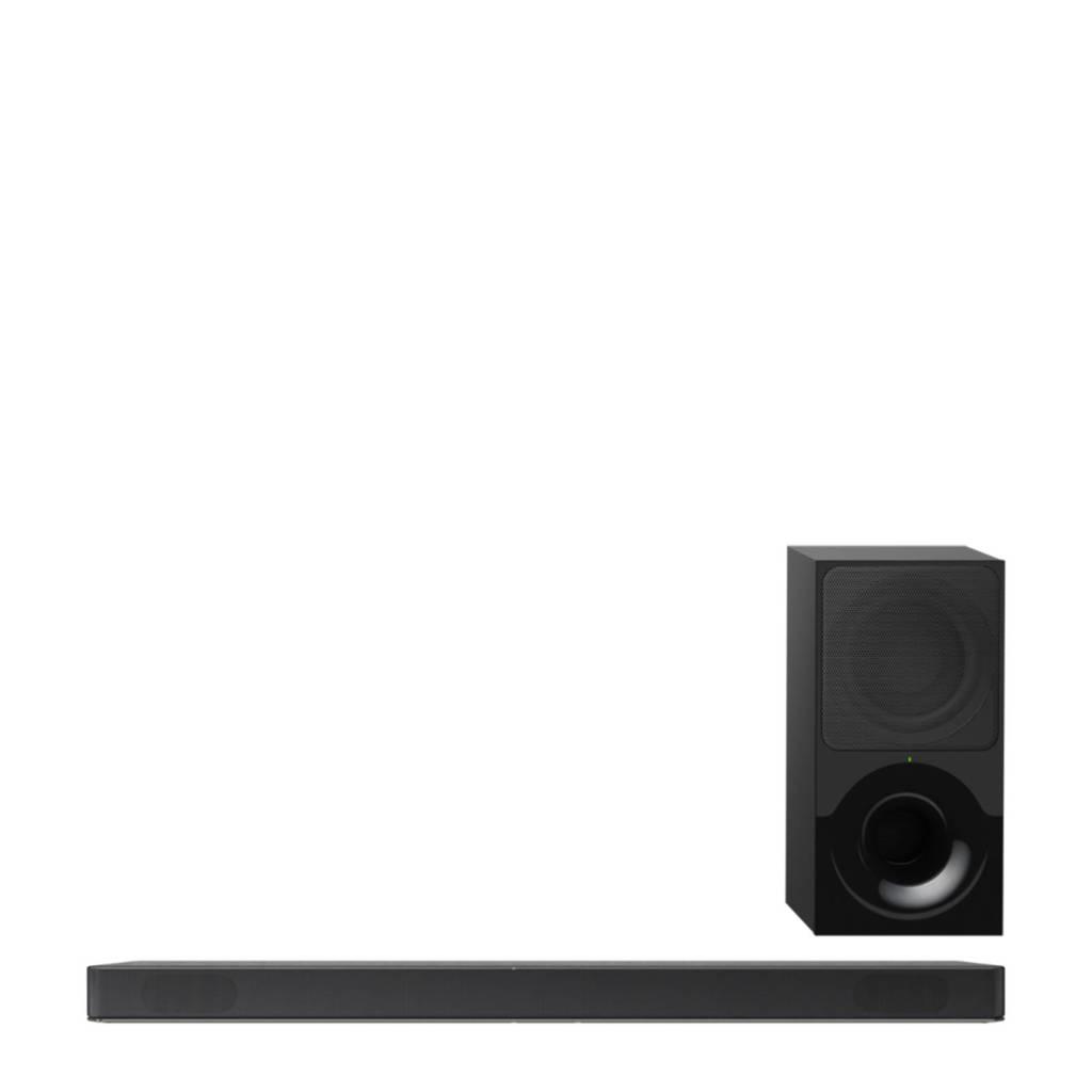 Sony HTXF9000 2.1 soundbar, Zwart