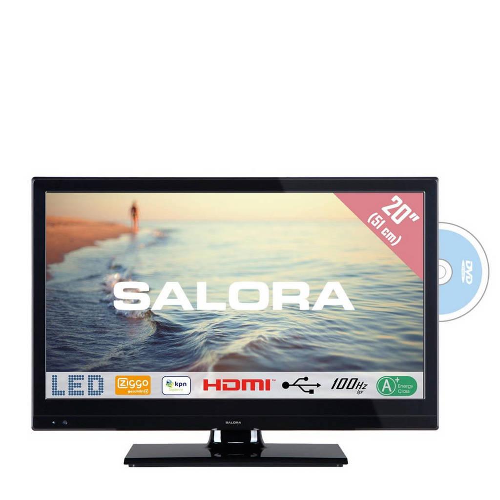 Salora 20HDB5005 HD Ready LED tv met ingebouwde DVD speler, 20 inch (51 cm)