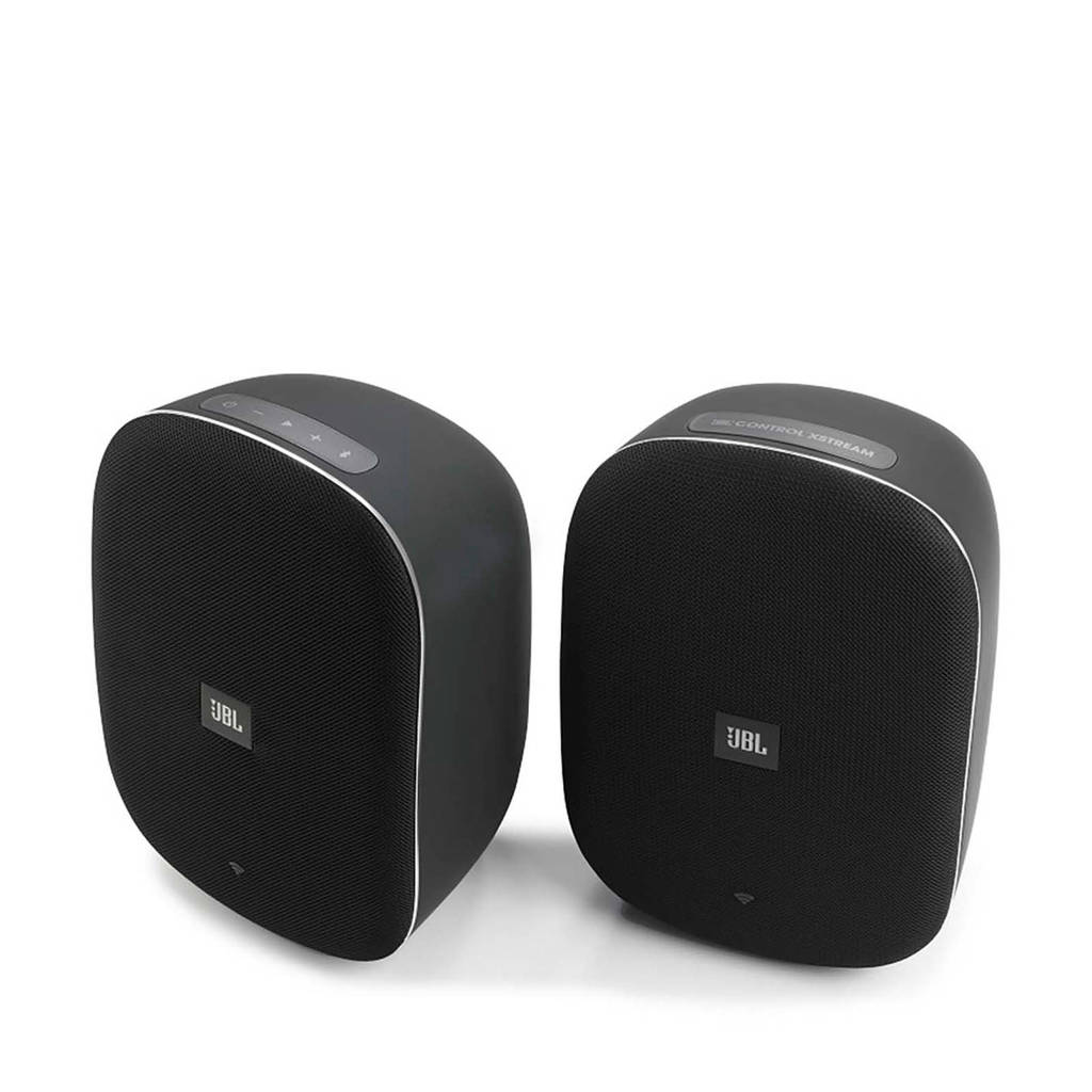JBL CONTROL XTREAM Draadloze boekenplankspeaker set (zwart), Zwart