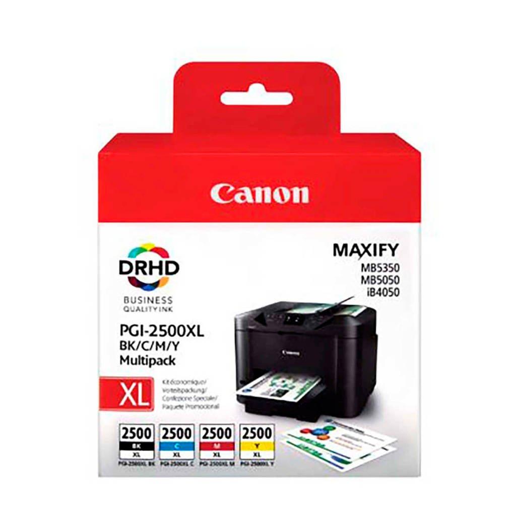 Canon PGI 2500XL MULTI BCMY inktcatridge