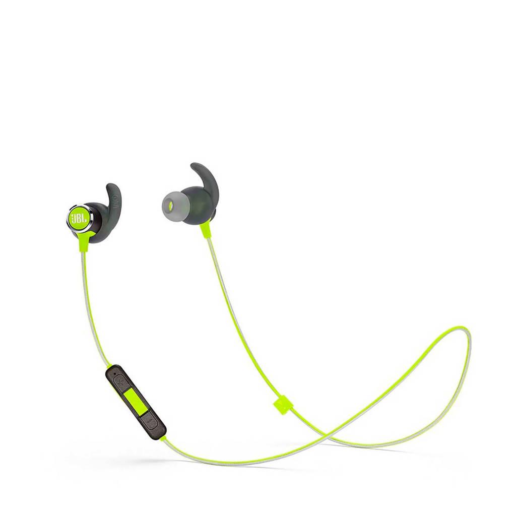 JBL in-ear bluetooth sport koptelefoon REFLECT MINI BT 2 groen, Groen