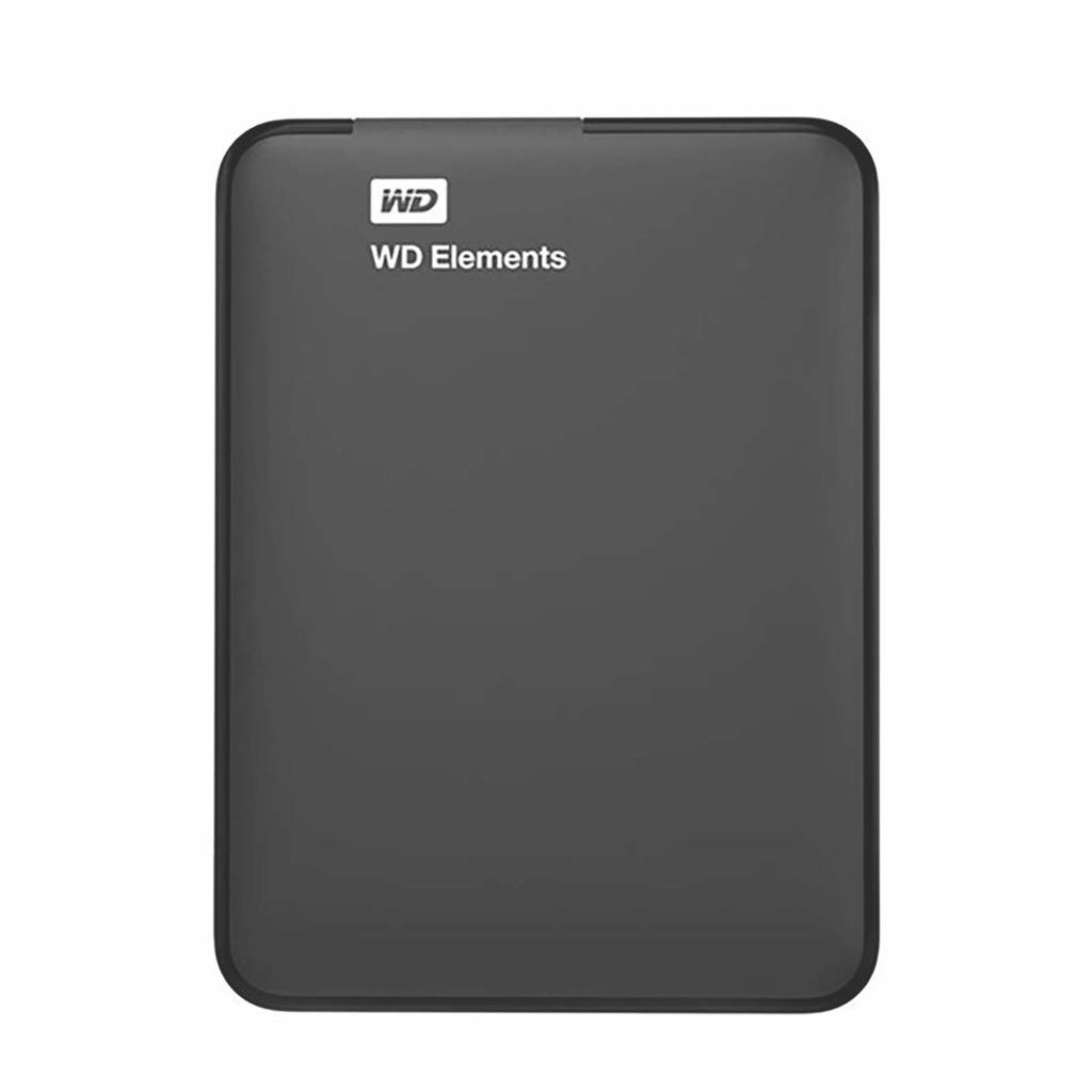 WD ELEMENTS 2.5 2TB harddisk, Zwart