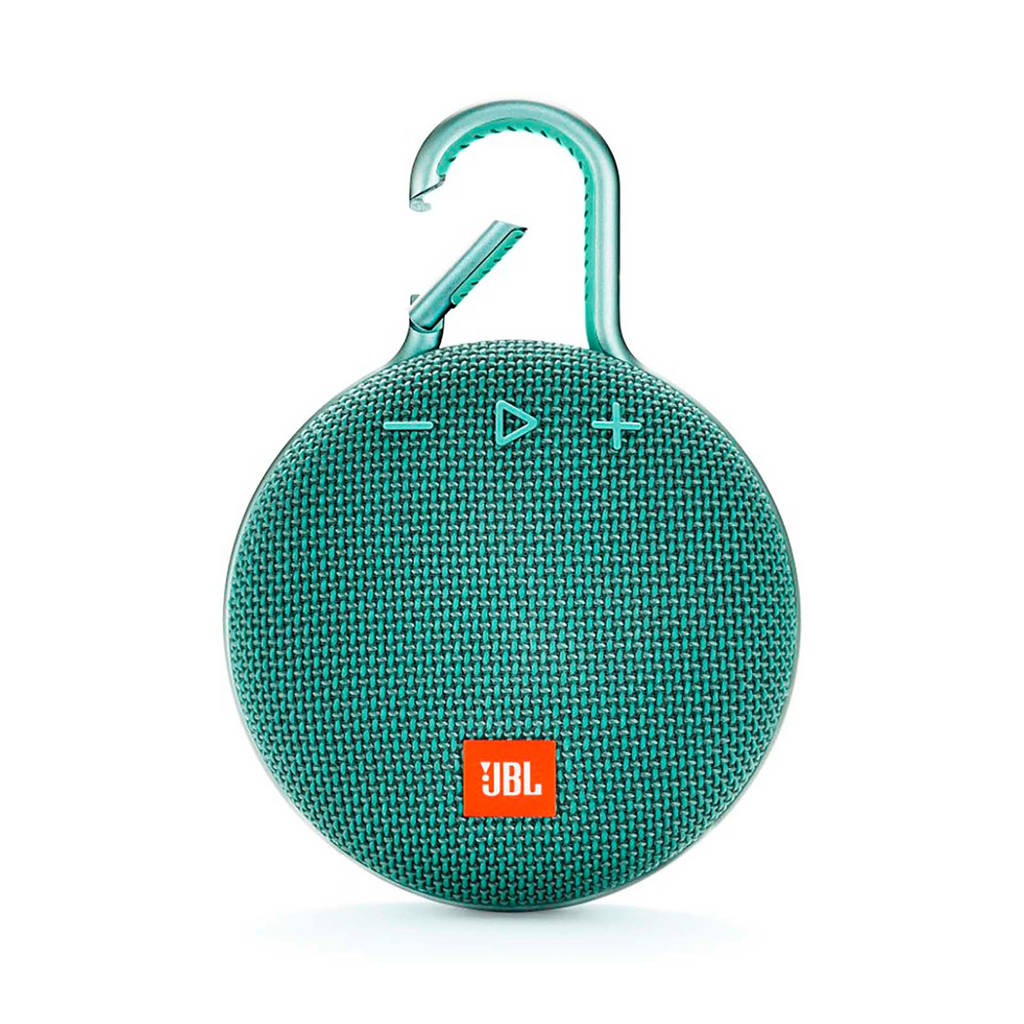 JBL Clip 3  bluetooth speaker teal, Turquoise