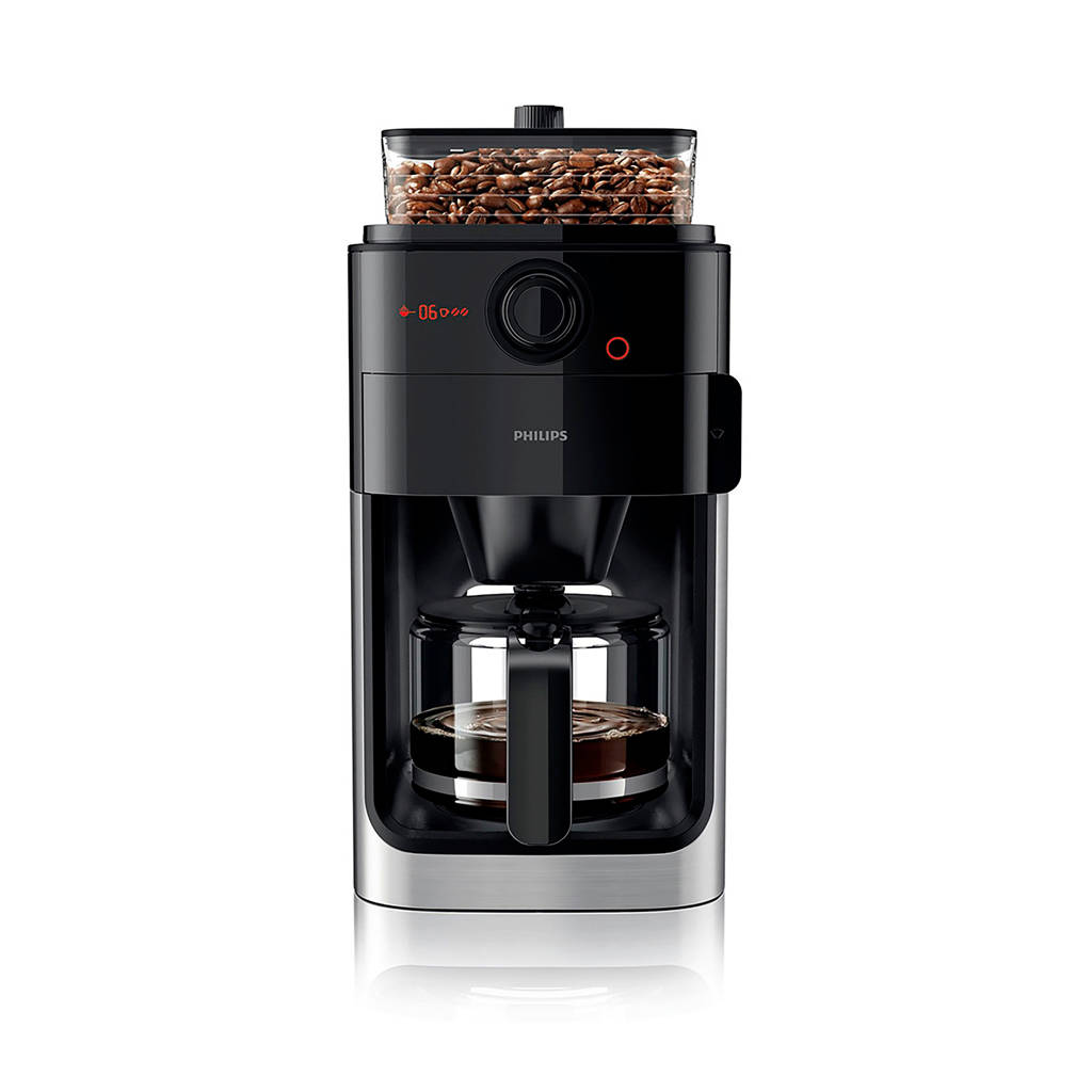 Philips HD7767/00 Grind & Brew koffiezetapparaat, Zwart