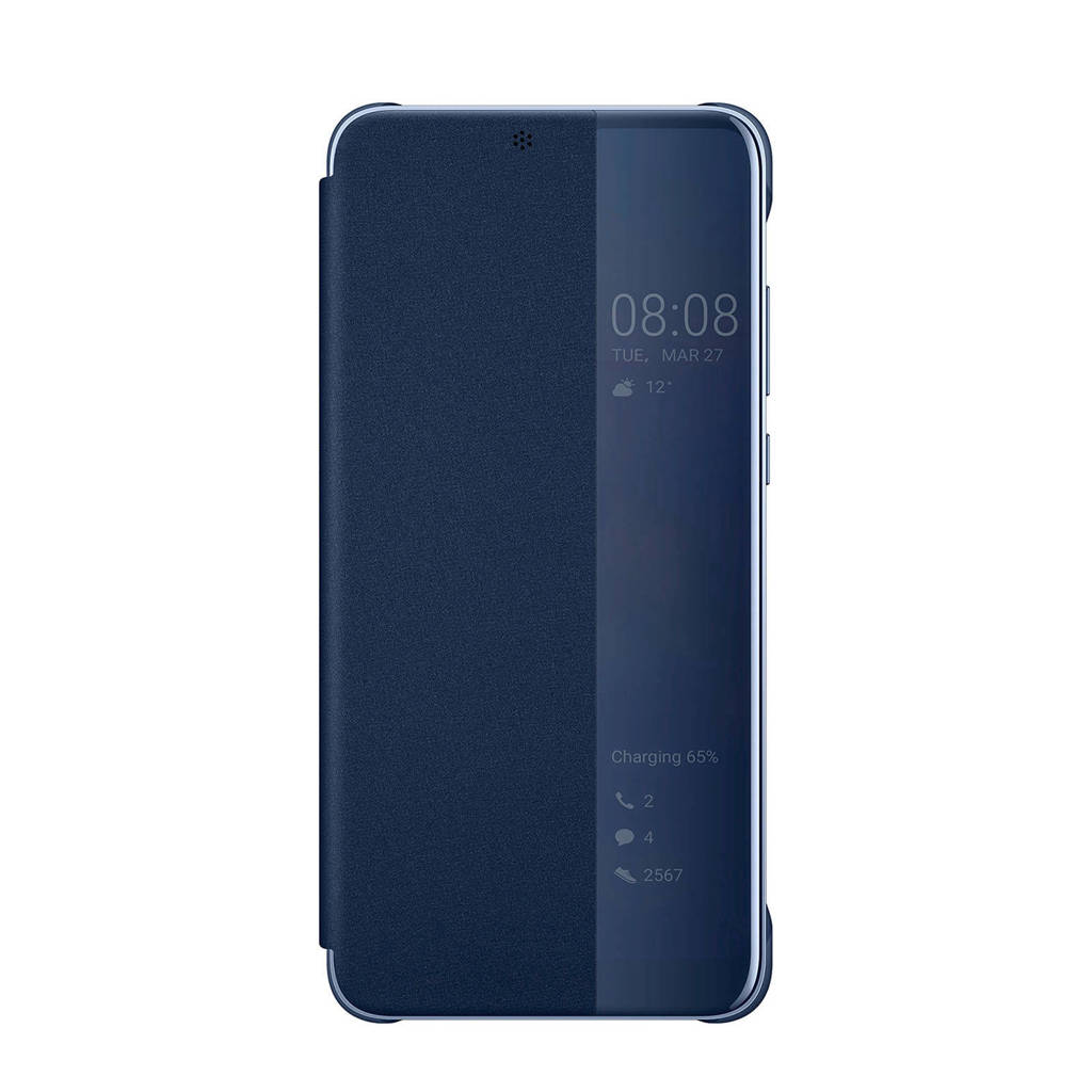 Huawei P20 viewcover, Blue,Translucent