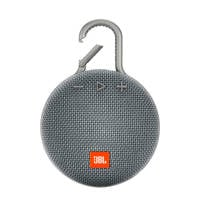 JBL Clip 3  bluetooth speaker grijs, Grijs