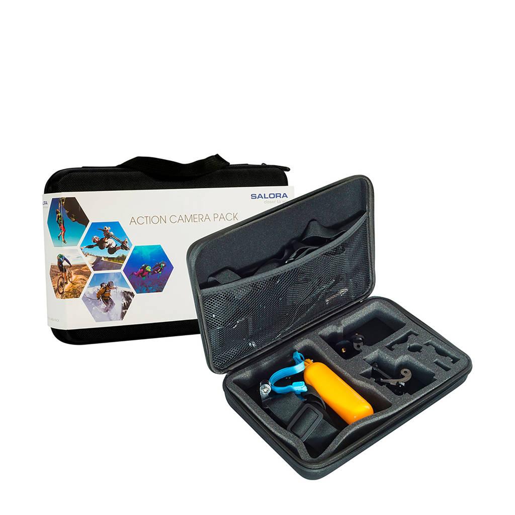 Salora ACTION CAM PACK action cam accessoire pakket, Zwaer