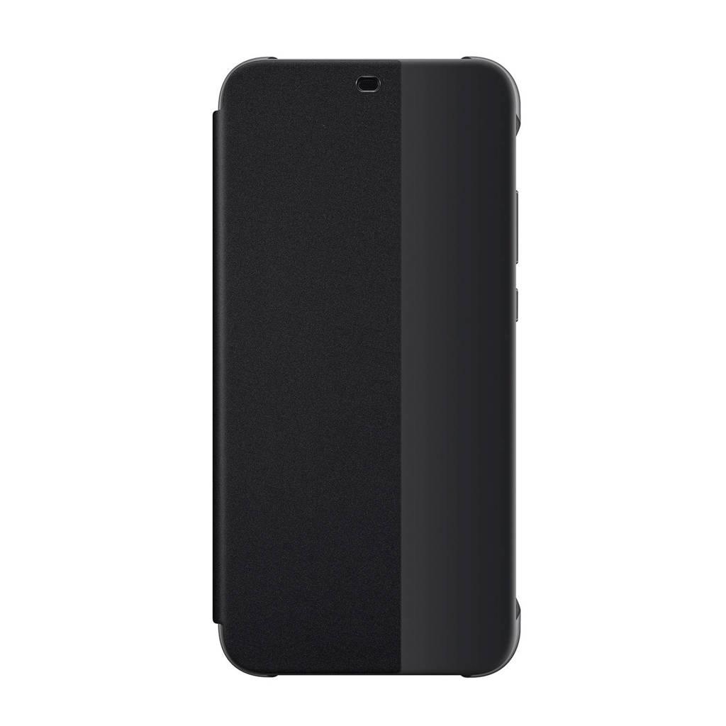 Huawei P20 Lite Flipcover, Zwart