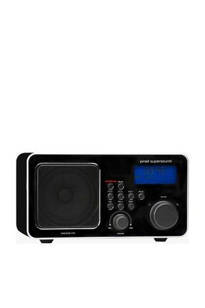 SUPERSOUND DAB+ ZWART draagbare DAB+ radio