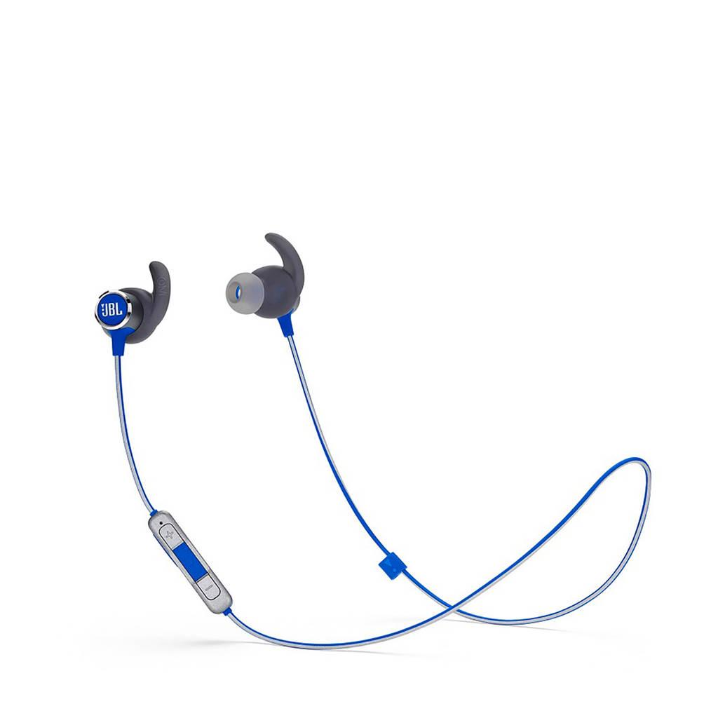 JBL REFLECT MINI BT 2 Bluetooth sport oortjes, Blauw