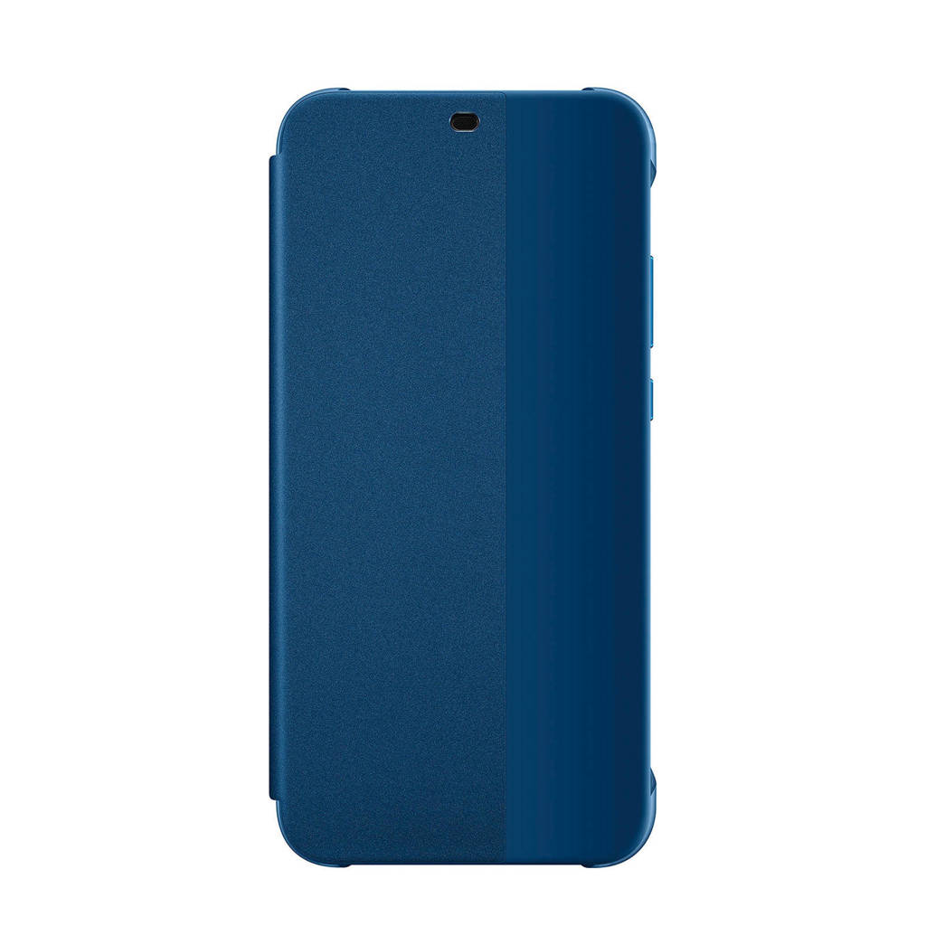 Huawei P20 Lite Flipcover, Blue,Translucent