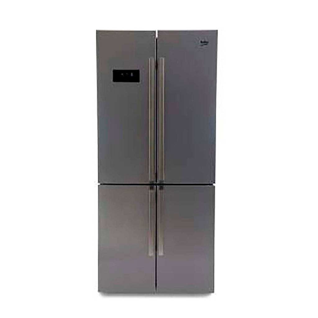 Beko GN1416221ZX Amerikaanse koelkast, Zilver