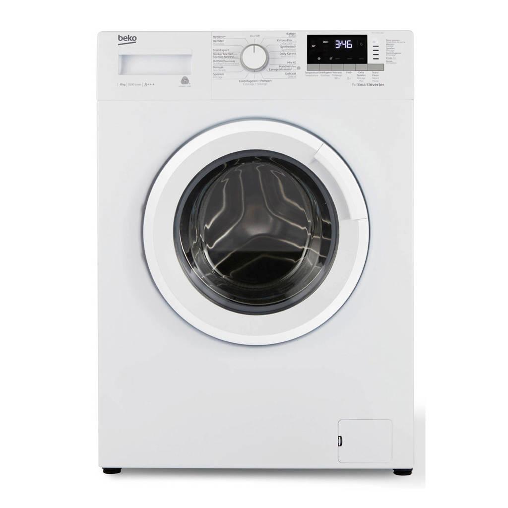 Beko WTV8812BW wasmachine