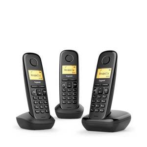 GIGNL-A270TRIO-BLK Huistelefoon