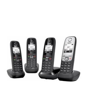 GIGNL-QUATTRO-BLKSLV huistelefoon