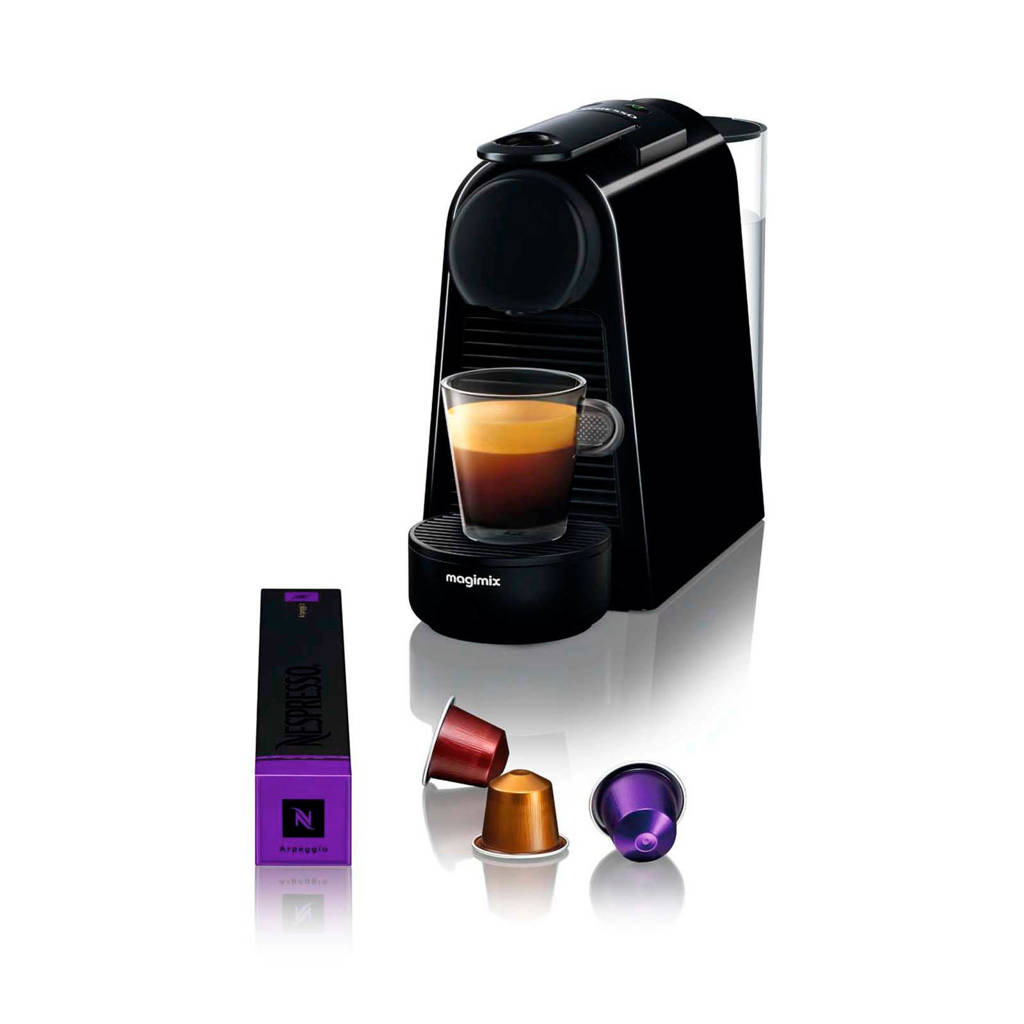 Magimix ESSENZA MINI M115 Nespresso machine, Zwart