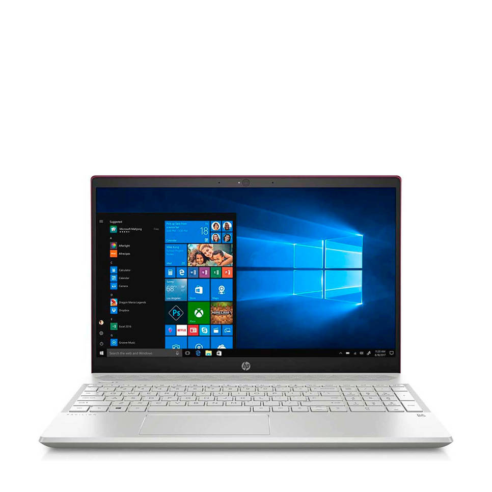 HP Pavilion 15-cs0160nd 15,6 inch Full HD laptop rood, Rood