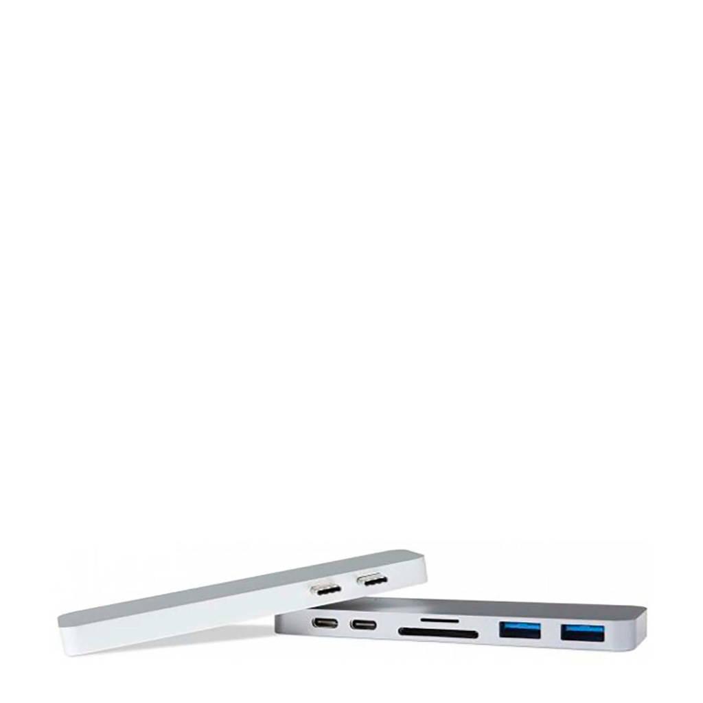 Hyper USB-C adapter met Thunderbolt 3 aansluiting, Grijs