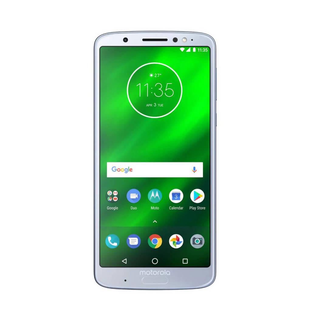 Motorola Moto G6 Plus Nimbus, Zilver