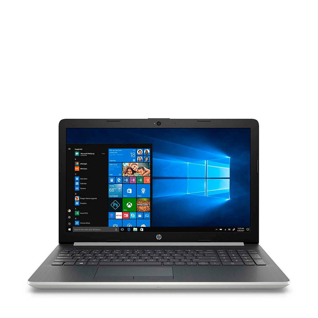 HP 15-DA0510ND 15.6 inch Full HD laptop, Zilver, Zwart