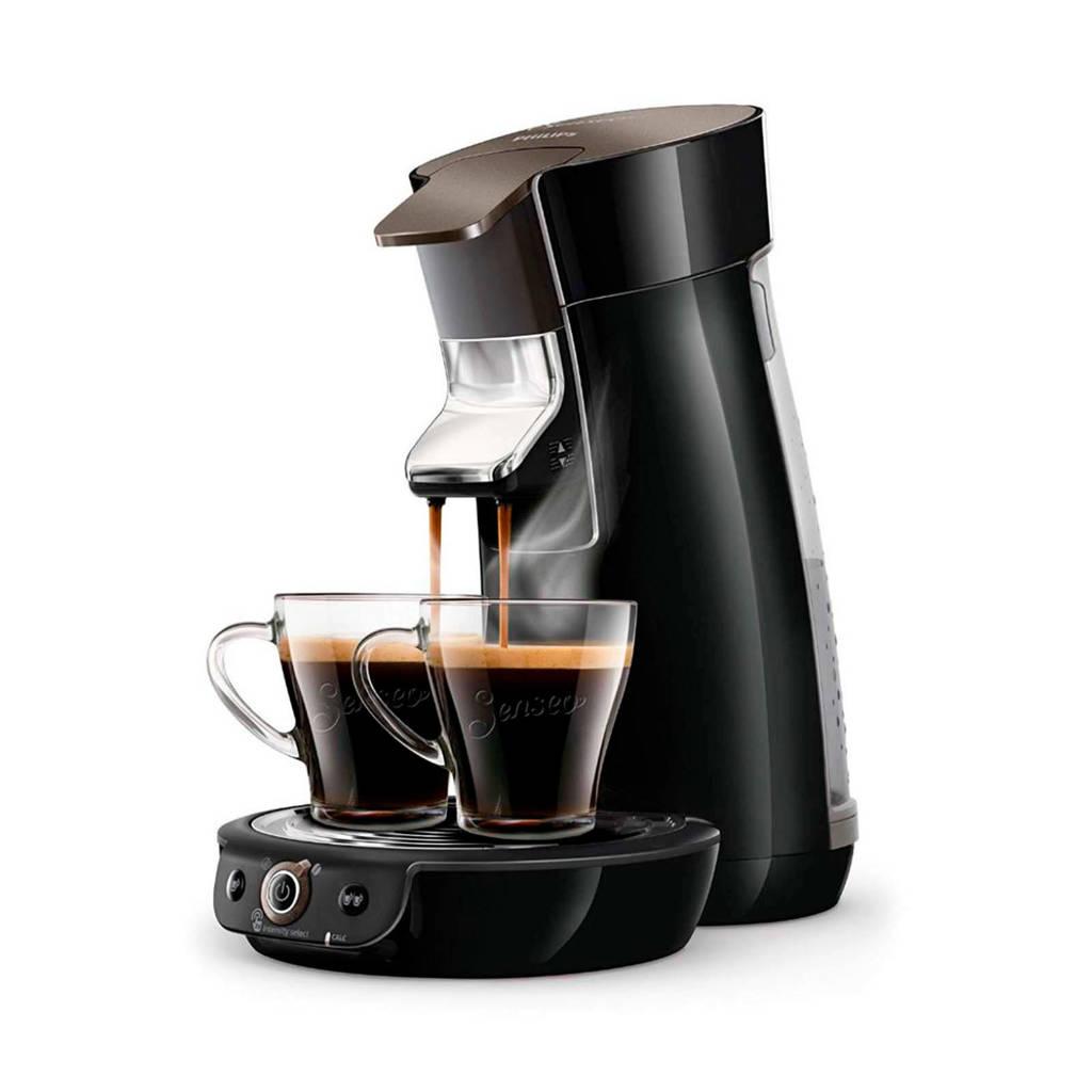 Philips Senseo Viva Café Duo Select koffiezetapparaat HD6564/60, Zwart