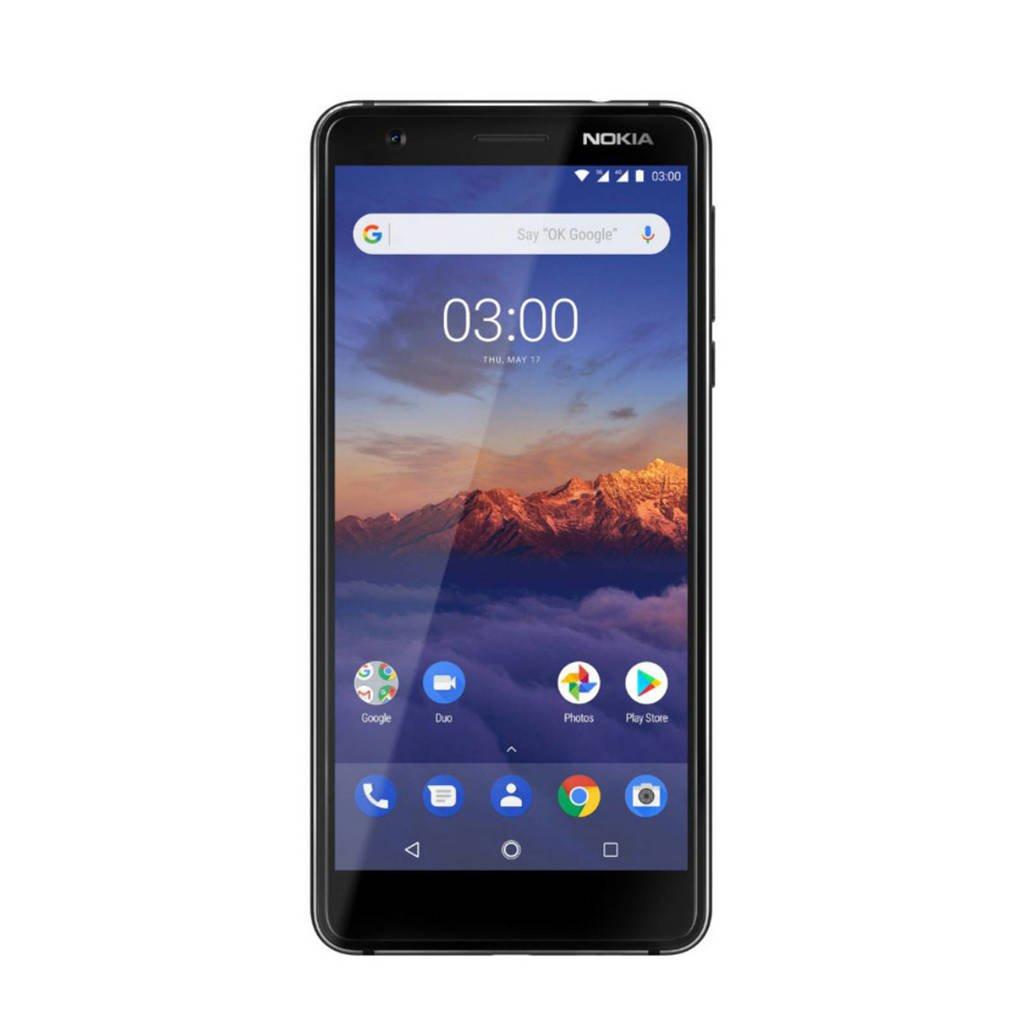 Nokia 3.1, Zwart