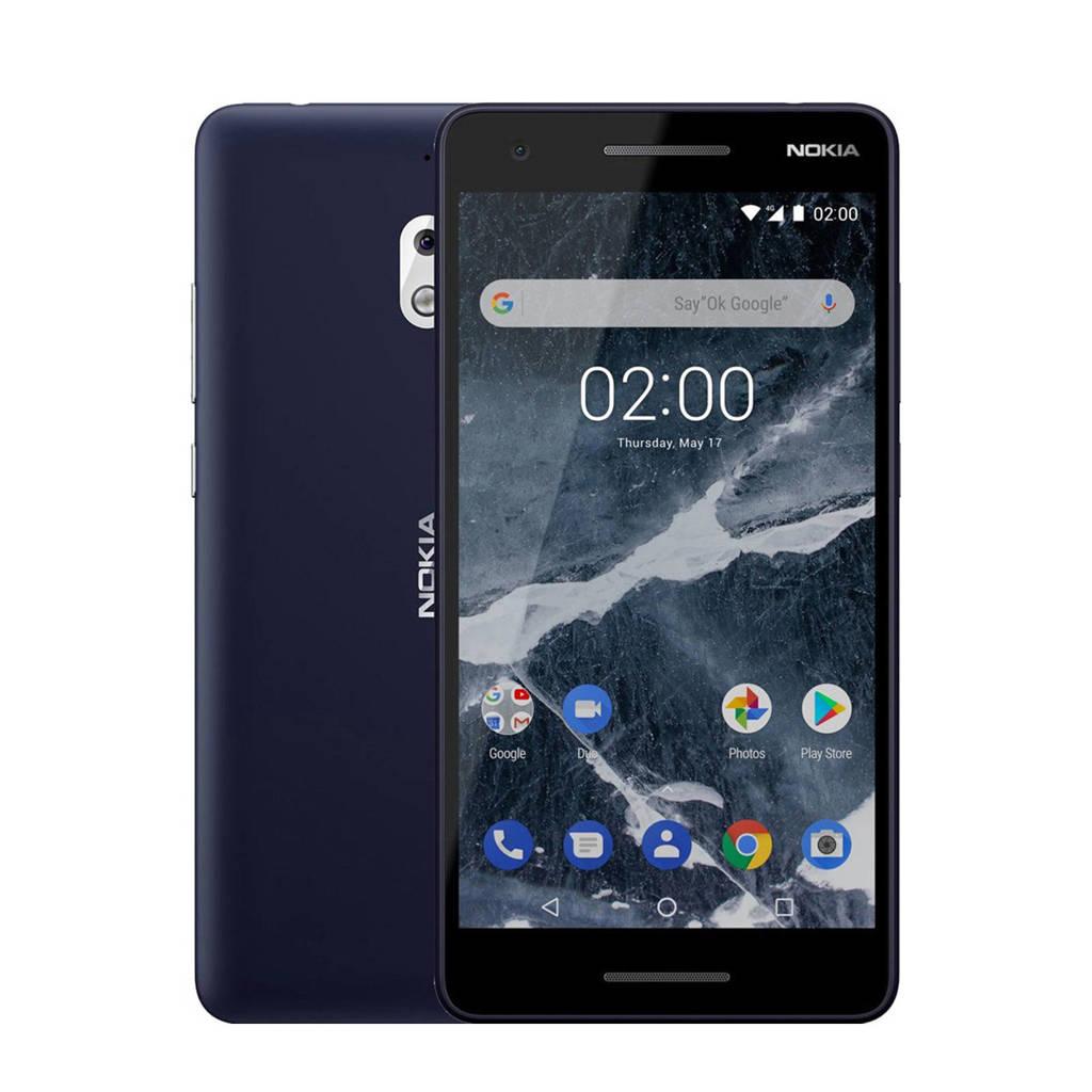 Nokia 2.1, Blauw/zilver