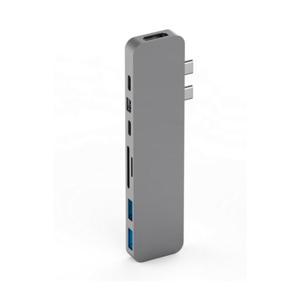 PRO HUB FOR USB-C GREY Pro hub voor Macbook Pro USB-C