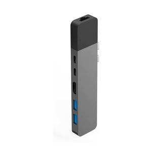 NET HUB USB-C PRO GRAY hub voor de USB-C MacBook Pro