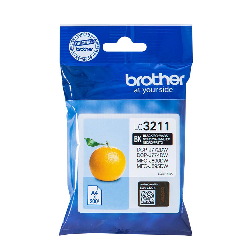 Brother LC3211 BLACK inktcartridge
