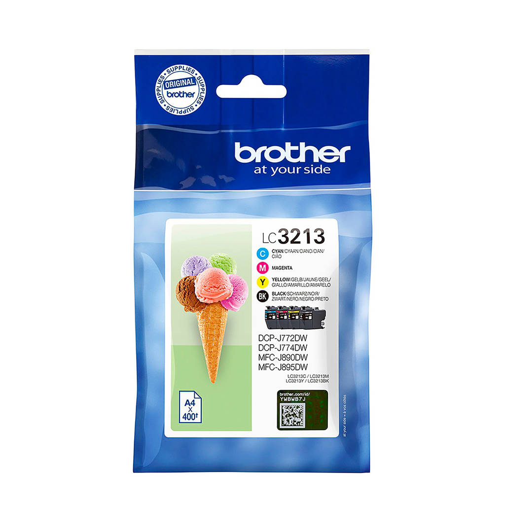 Brother LC3213 MULTI BCMY inktcartridge