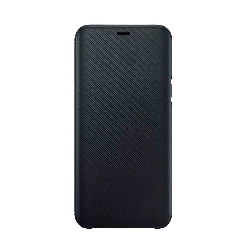 Samsung Galaxy J6 (2018) flipcover, Zwart