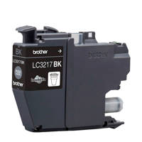 Brother LC-3217BK cartridge, Zwart