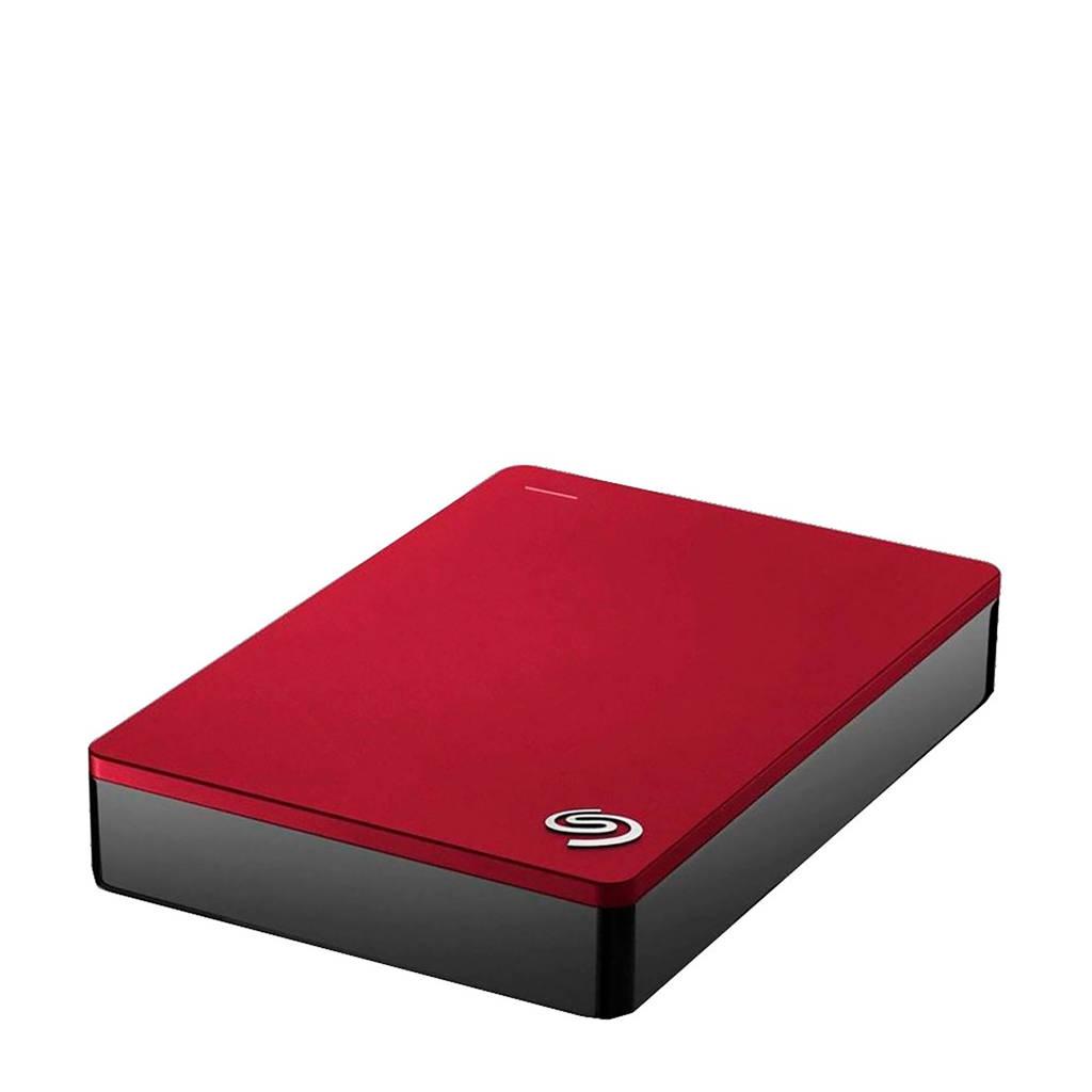 Seagate Backup Plus Portable 4TB externe harde schijf, Rood