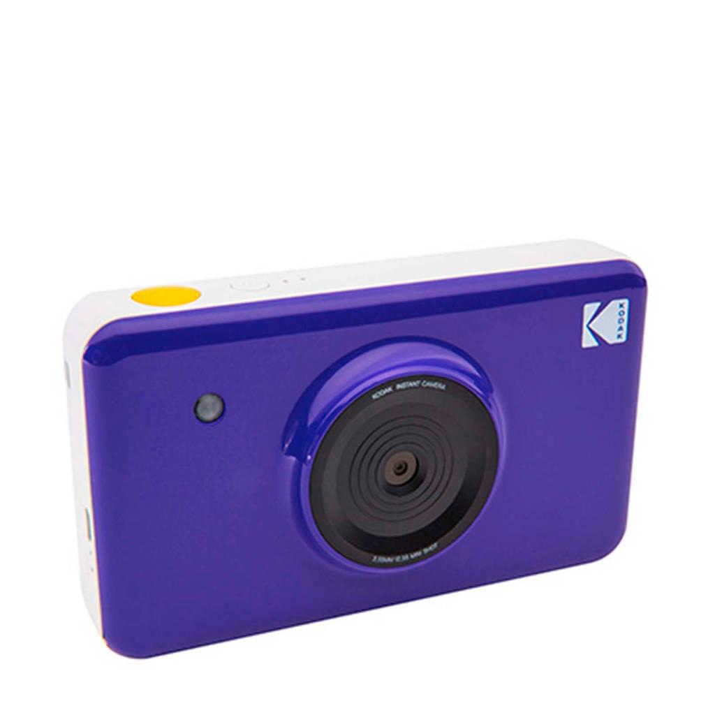 Kodak MINISHOT PURPLE INCL DYESUB CARTRIDGE VOOR 20 FOTO instant compact camera