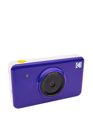 MINISHOT PURPLE INCL DYESUB CARTRIDGE VOOR 20 FOTO instant compact camera
