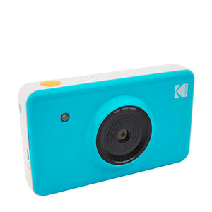 MINISHOT BLUE INCL DYESUB CARTRIDGE VOOR 20 FOTO'S instant compact camera