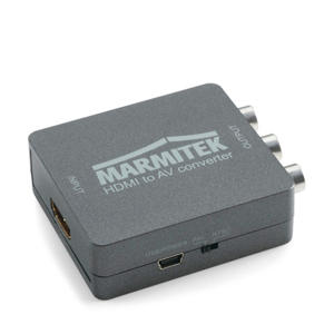 Connect HA13 HDMI naar RCA / SCART converter