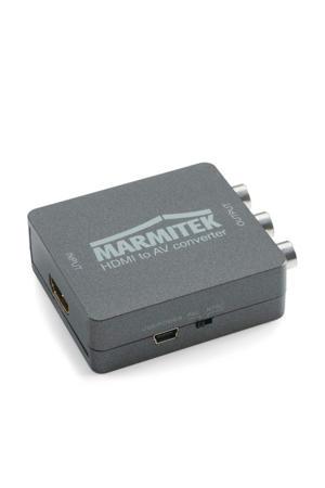 Connect HA13 HDMI naar RCA / SCART converter