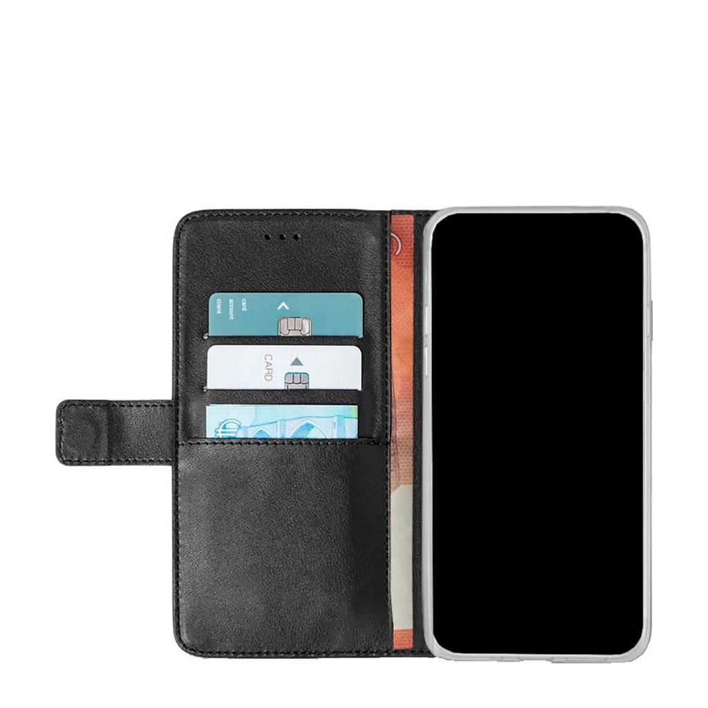Azuri Moto E5 wallet cover, Zwart